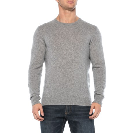 Image of Cashmere Pullover Sweater - Crew Neck (For Men)