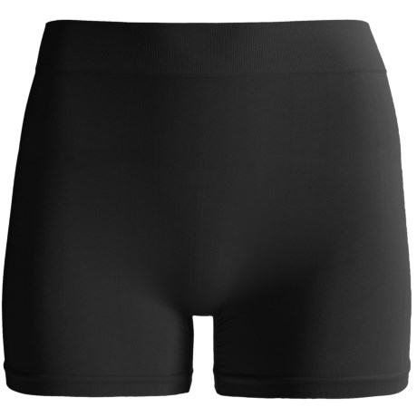 """CASS Shapewear 10"""" Bottoms - Boy Shorts (For Women) in Black"""