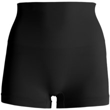 CASS Shapewear Contour Boy Shorts - Underwear (For Women) in Black - Closeouts