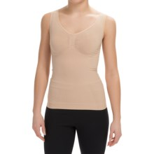 CASS Shapewear Contour Jewel Shaping Top (For Women) in Nude - Closeouts
