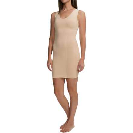 CASS Shapewear V-Neck Dress Slip - Sleeveless (For Women) in Nude - Closeouts