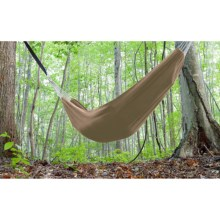 Castaway by Pawley's Island Hammock in a Bag in Tan - Closeouts