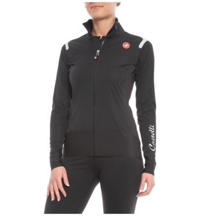 Castelli Alpha ROS Windstopper® Cycling Jersey - Long Sleeve (For Women) in  Light df9a3310c