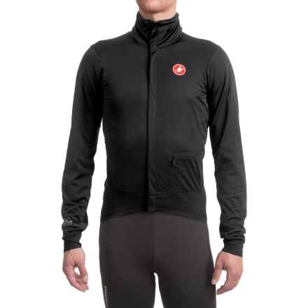Castelli Alpha Windstopper® Cycling Jacket (For Men) in Black - Closeouts