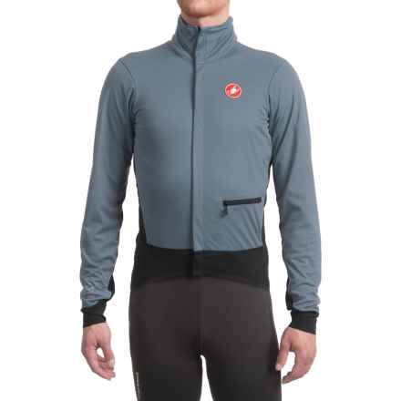 Castelli Alpha Windstopper® Cycling Jacket (For Men) in Mirage/Black - Closeouts