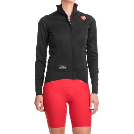 Castelli Alpha Windstopper® Jacket (For Women) in Black - Closeouts
