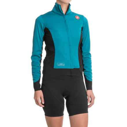 Castelli Alpha Windstopper® Jacket (For Women) in Deep Ocean - Closeouts