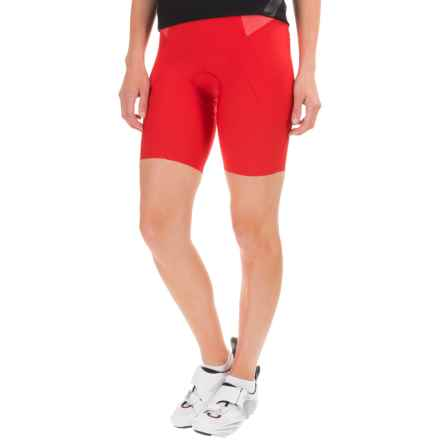 Castelli Bellissima Bike Shorts (For Women) in Red - Closeouts