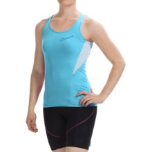 Castelli Bellissima Cycling Jersey - Sleeveless (For Women) in Pastel Blue - Closeouts