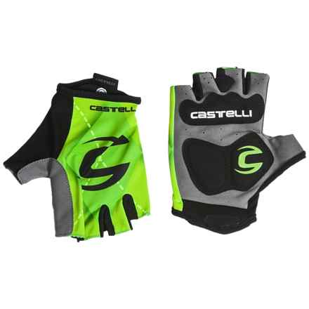 Castelli Cannondale Roubaix Gloves (For Men) in Green - Closeouts