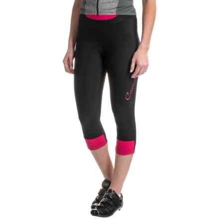 Castelli Chic Cycling Knickers (For Women) in Black/Raspberry - Closeouts