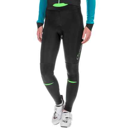 Castelli Chic Cycling Tights (For Women) in Black/Yellow Fluo - Closeouts