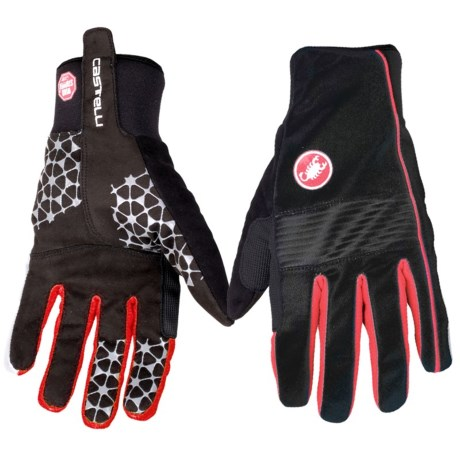 Castelli Chiro 3 Bike Gloves Windstopper(R) (For Men)