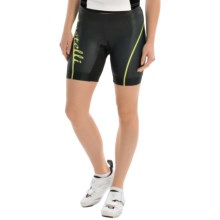 Castelli Core Tri Shorts (For Women) in Black/Lime - Closeouts