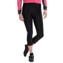 Castelli Cromo Cycling Knickers (For Women) in Black/Blue Yonder - Closeouts
