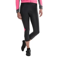 Castelli Cromo Cycling Knickers (For Women) in Black/Raspberry - Closeouts