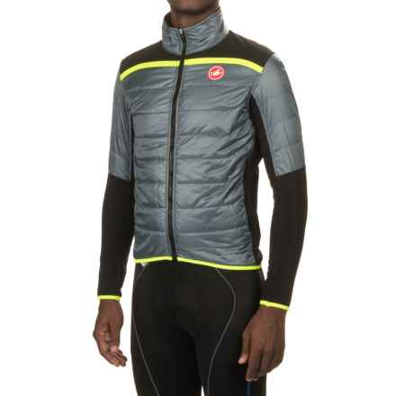 Castelli Cross Prerace PrimaLoft® Cycling Jacket - Insulated (For Men) in Mirage/Black - Closeouts