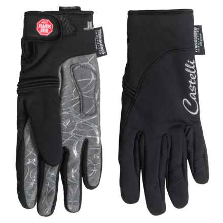 Castelli CW 4.0 Windstopper® Donna Gloves - Insulated (For Women) in Black - Closeouts