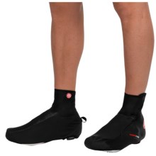 Castelli Difesa Windstopper® Cycling Shoe Covers (For Men) in Black - Closeouts