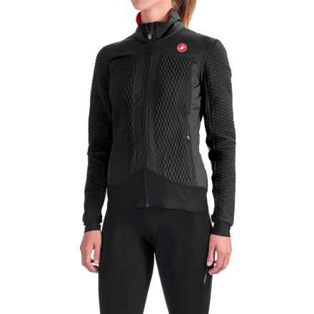 Castelli Elemento 2 7X(Air) Jacket - Waterproof, Insulated (For Women) in Black - Closeouts