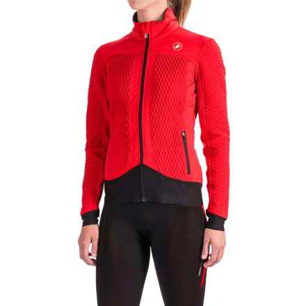 Castelli Elemento 2 7X(Air) Jacket - Waterproof, Insulated (For Women) in Red - Closeouts