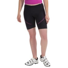 Castelli Evoluzione Bike Shorts (For Women) in Black/Magenta - Closeouts