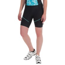 Castelli Evoluzione Bike Shorts (For Women) in Black/Pastel Blue - Closeouts