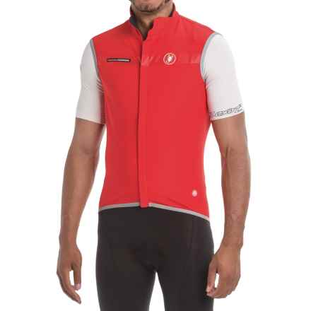 Castelli Fawesome 2 Windstopper® Cycling Vest (For Men) in Red - Closeouts
