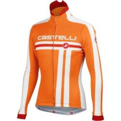 Castelli Free Cycling Jacket - Windstopper® (For Men) in Deep Blue/White