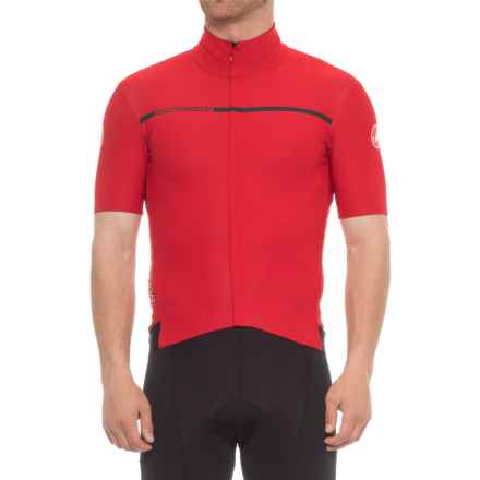 Castelli Gabba 3 Windstopper® Cycling Jersey - Short Sleeve (For Men) in Red - Closeouts