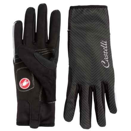 Castelli Illumina Bike Gloves (For Women) in Black - Closeouts