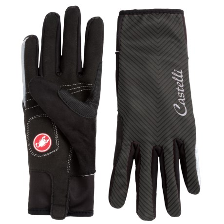 Castelli Illumina Bike Gloves (For Women) in Black