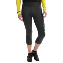Castelli Illumina Cycling Knickers (For Women) in Anthracite/Pastel Blue - Closeouts