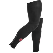Castelli Lycra Cycling Leg Warmers (For Men) in Black - Closeouts