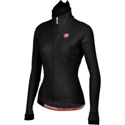 Castelli Magia Cycling Jacket - Windstopper® (For Women) in Black
