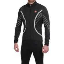 Castelli Misto Cycling Jacket - Waterproof, Full Zip (For Men) in Black - Closeouts