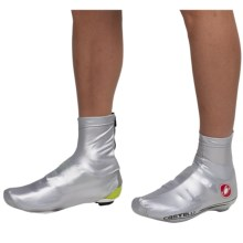 Castelli Nano Cycling Shoe Covers (For Men) in Silver - Closeouts