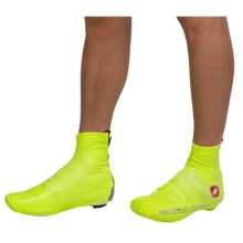 Castelli Nano Cycling Shoe Covers (For Men) in Yellow Fluo - Closeouts