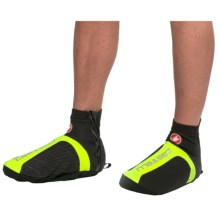Castelli Narcisista All-Road Cycling Shoe Covers (For Men) in Black/Yellow Fluo - Closeouts