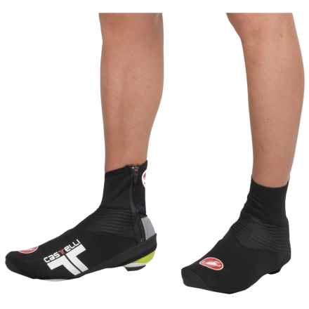 Castelli Narcisista Cycling Shoe Covers (For Men) in Black - Closeouts