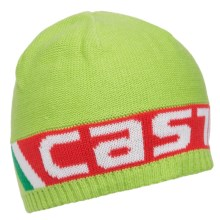 Castelli Ombra Beanie (For Men and Women) in Lime - Closeouts