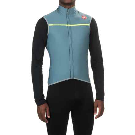 Castelli Perfetto Windstopper® Vest - Full Zip (For Men) in Mirage - Closeouts