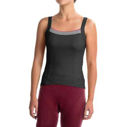 Castelli Perla Bavette Cycling Jersey - Sleeveless (For Women) in Black - Closeouts