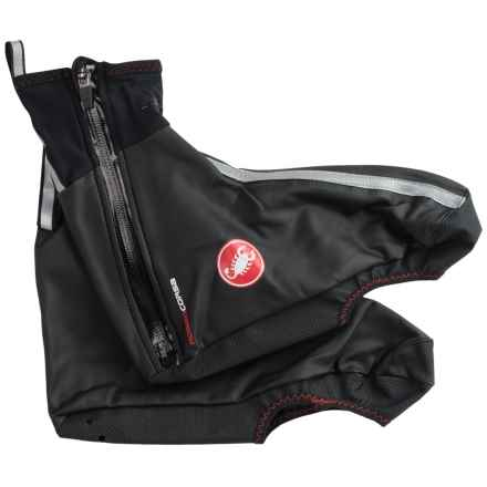 Castelli Pioggia 3 Cycling Shoe Covers - Waterproof (For Men) in Black - Closeouts