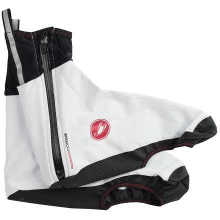 Castelli Pioggia 3 Cycling Shoe Covers - Waterproof (For Men) in White - Closeouts