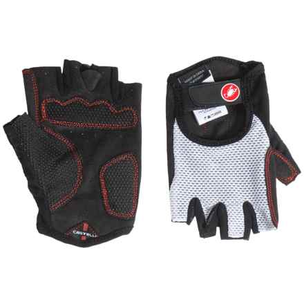 Castelli Pista Gloves (For Men) in White - Closeouts
