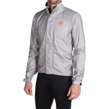 Castelli Pocket Liner Jacket - Waterproof (For Men) in Grey - Closeouts