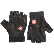 Castelli Presa Bike Gloves - Fingerless (For Men) in Black - Closeouts