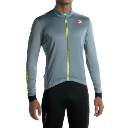Castelli Puro 2 Cycling Jersey - Full Zip, Long Sleeve (For Men) in Mirage - Closeouts