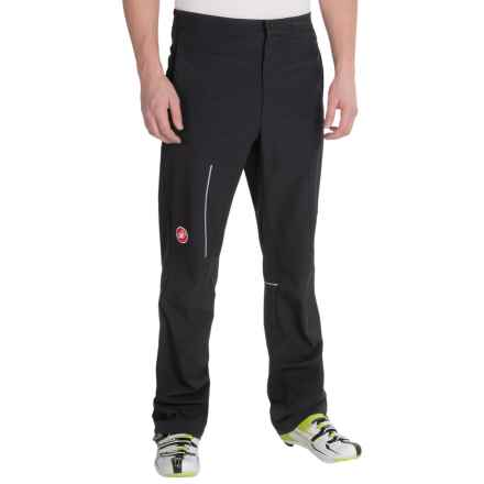 Castelli Race Day Casual Warm-Up Pants (For Men) in Black - Closeouts